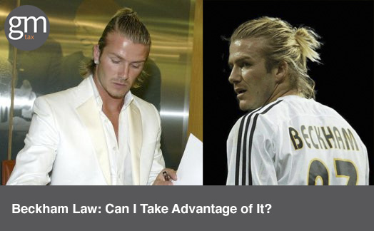 Beckham Law: Can I Take Advantage of It?