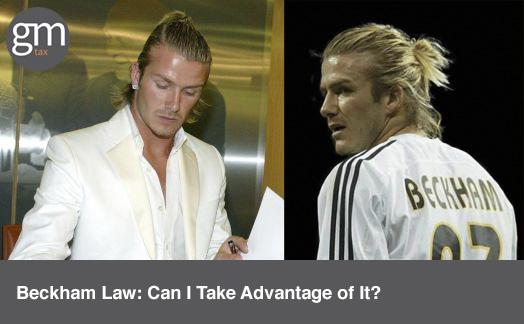 Beckham Law: Can I Take Advantage of It?