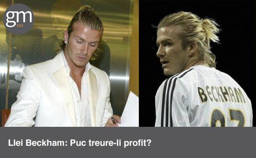 Llei Beckham: Puc treure-li profit?